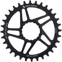 "Wolf Tooth DM HG+ ""Boost"" Drop-Stop Chainrings - Fits Race Face Cinch Cranks"