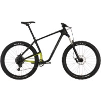Salsa Woodsmoke Carbon NX1 27.5+ Complete Bike - Black/Lime Green