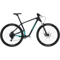 "Salsa Woodsmoke Carbon NX1 29"" Complete Bike - Black/Teal"