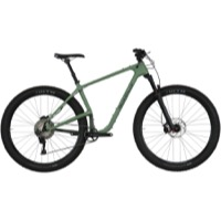 Salsa Woodsmoke Carbon SLX 29+ Complete Bike - Matte Green/Gray