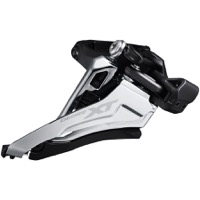 Shimano FD-M8100 XT Double Front Derailleur - 2 x 12 Speed Side Swing