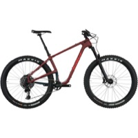 Salsa Woodsmoke Carbon X01 Eagle 27.5+ Bike - Maroon/Navy