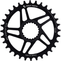 "Wolf Tooth DM HG+ ""Boost"" Drop-Stop Chainrings - Fits Shimano Direct Mount Cranks"