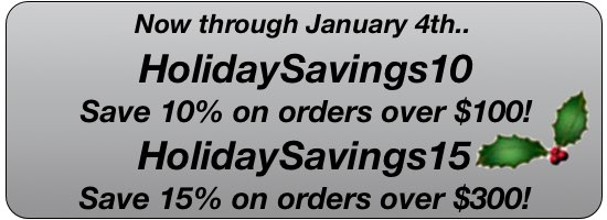 Holiday Savings!