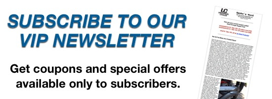 Subscribe to our VIP Newsletter