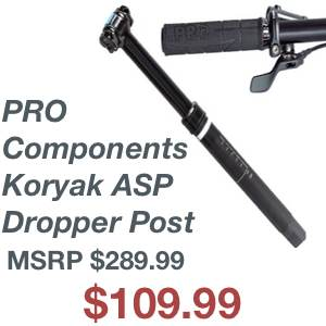 PRO Components (Shimano) Koryak ASP Dropper Post