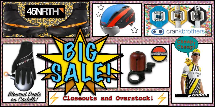 Closeouts and Specials!