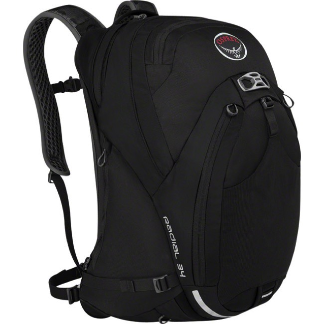 Universal Cycles Osprey Radial 34 Backpack Black