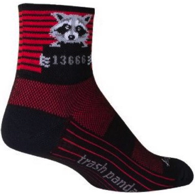SockGuy Classic Hippo Sock Gray LG//XL