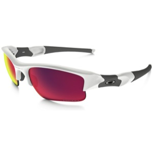bf37e07367 Oakley Flak Jacket XLJ Prizm Road Sunglasses - Polished White Prizm Road  Iridium Lens