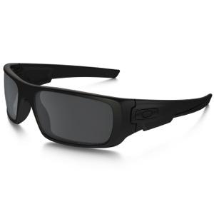 7200ba5eef Oakley Crankshaft Polarized Sunglasses - Matte Black Black Iridium Polarized