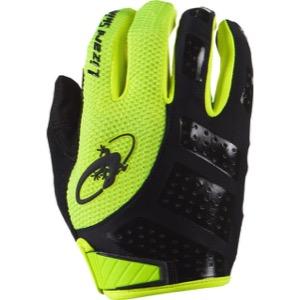 Lizard Skins Monitor SL Full Finger Gloves Jet Black//Crimson XX-Large Bike