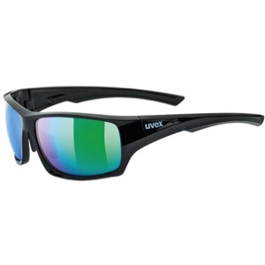 Mirror Polarized Sunglasses  universal cycles uvex 222 polarized sunglasses black green