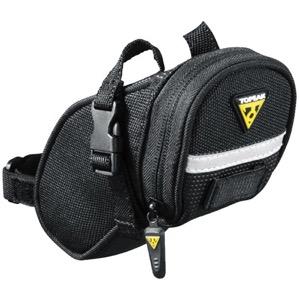 Micro Black 206 Topeak Aero Wedge Seat Bag Strap//On