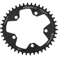 Wolf Tooth Elliptical Flat Top Chainring - 5 x 110mm BCD