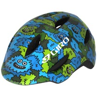 Giro Scamp MIPS Youth Helmet 2020 - Blue/Green Creature Camo