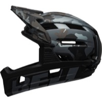 Bell Super Air R MIPS Helmet 2021 - Matte/Gloss Black Camo