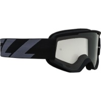 Bell Descender MTB Goggles 2020 - Outbreak Matte Black/Gray (Clear Lens)