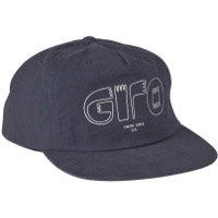 Giro Unstructured Snapback Cap - Blue Logo Hands