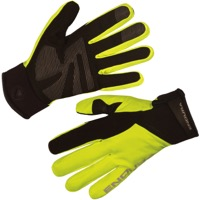 Endura Strike II Waterproof Gloves 2020 - Hi-Viz Yellow