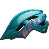 Bell Sidetrack II Youth MIPS Helmet 2020 - Buzz Gloss Light Blue/Pink