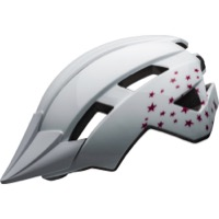 Bell Sidetrack II Youth Helmet 2020 - Stars Gloss White