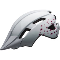 Bell Sidetrack II Child Helmet 2020 - Stars Gloss White