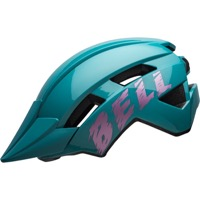 Bell Sidetrack II Child Helmet 2020 - Buzz Gloss Light Blue/Pink