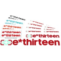 E-Thirteen Race Handlebar Decal Kits