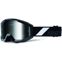 100% Strata Junior Goggles - Goliath/Silver Mirror Lens