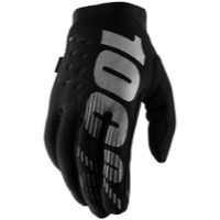 100% Brisker Women's Gloves - Black