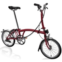Brompton M6L Complete Bike - House Red