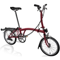 Brompton M6R Complete Bike - House Red