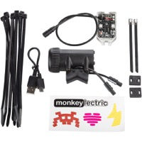 MonkeyLectric A15 Auto USB Monkey Bike Wheel Light