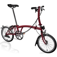 Brompton S6L Complete Bike - House Red