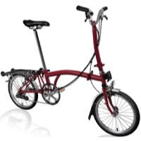 Brompton H6R Complete Bike - House Red