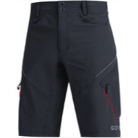 Gore C3 Trail Shorts 2020 - Black/Red