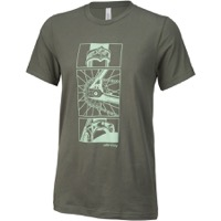 All City Damn Fine T-Shirt - Military Green