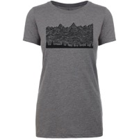 Giro EWS Women's Tech Tee 2020 - Grey/EWS Special Edition
