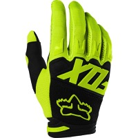 Fox Racing Dirtpaw Race Youth Gloves 2020 - Fluorescent Yellow