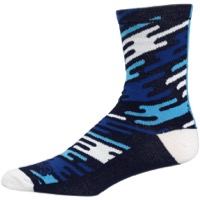 All-City Flow Motion Socks - Blue