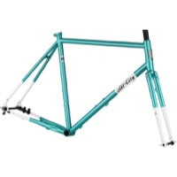 All-City Super Professional Disc Frameset - Blue Panther