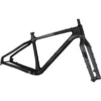 Salsa Beargrease Carbon Fat Bike Frameset - Black