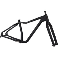 Salsa Mukluk Carbon Fat Bike Frameset - Black
