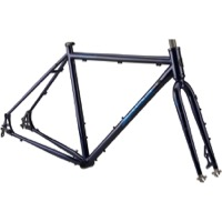 Salsa Marrakesh Drop Bar Frameset - Dark Blue