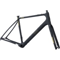 Salsa Warroad Carbon Frameset - Black