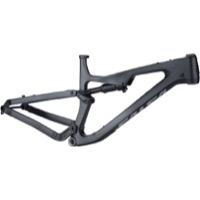 Salsa Rustler Carbon Frame w/Rock Shox Rear Shock - Black/Gray/Fade