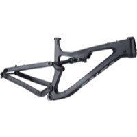 Salsa Rustler Carbon Frame w/Fox Rear Shock - Black/Gray/Fade