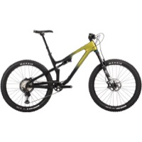 Salsa Rustler XT Carbon 27.5 Complete Bike - Green/Raw Fade