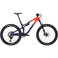 Salsa Rustler XTR Carbon 27.5 Complete Bike - Orange/Purple Fade